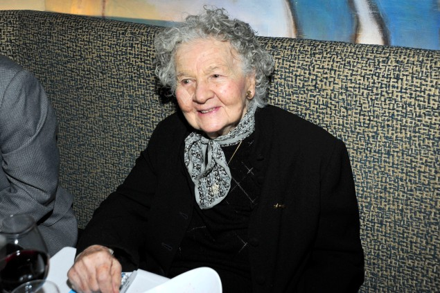 Lillian Ross (Photo by Patrick McMullan/PMc)