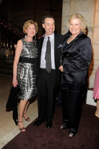 Louise Grunwald, Ben Brantley, and Candice Bergen, May 23, 2011 (Clint Spaulding/©Patrick McMullan).