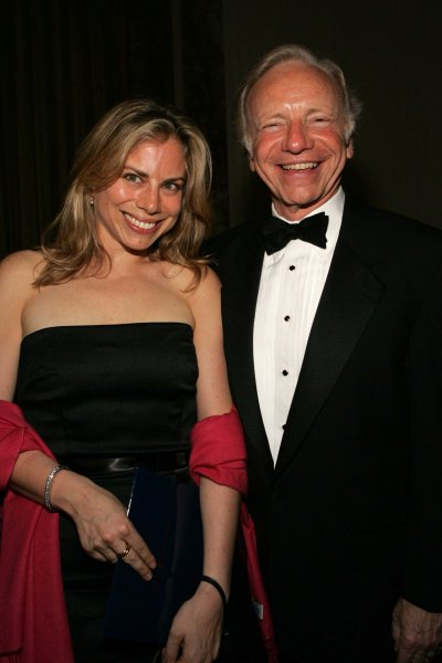 Rebecca Lieberman and her father, Senator Joseph Lieberman at The Partnership for Public Service's Third Annual Black Tie Gala Honoring John McCain, Waldorf-Astoria, New York, June 16, 2005 (Jimi Celeste/ ©Patrick McMullan)