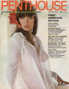 The first issue of Penthouse.