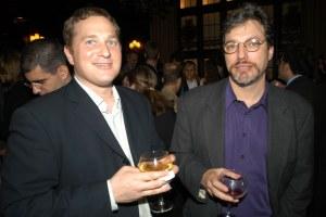 Mr. Alterman (right) (Photo by Richard Orjis / PMc)