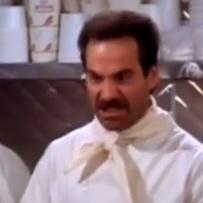 "The ""Soup Nazi,"" as seen on TV. (Screencap: YouTube)"