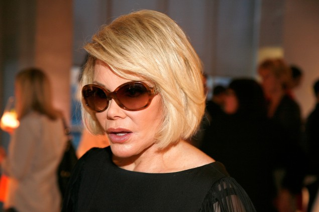 Joan Rivers (Photo by Andy Kropa/Getty Images)