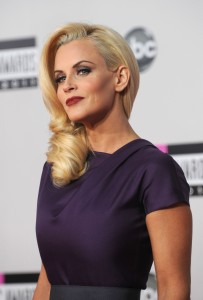 Jenny McCarthy arrives at the American Music Awards in Los Angeles on November 20, 2011.(Photo Valerie Macon/Getty Images)
