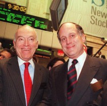 Leonard and Ronald Lauder (#66 and #124)