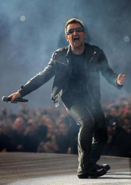 Bono Says the F Word