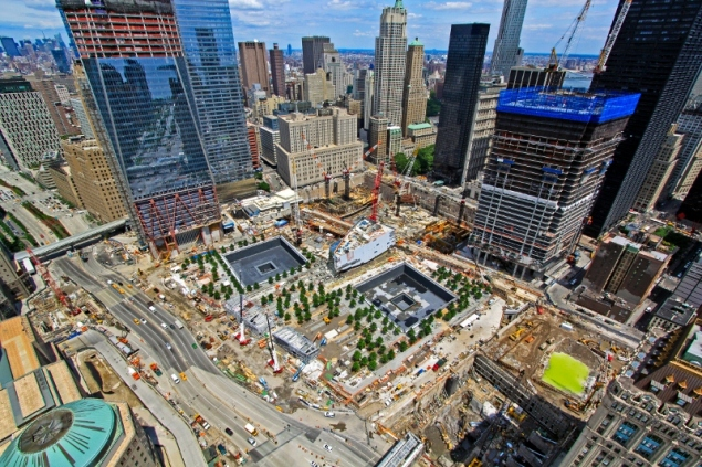 Ground Zero, June 2011. (Port Authority)
