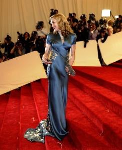 Canada-bound director Madonna. (Getty Images)