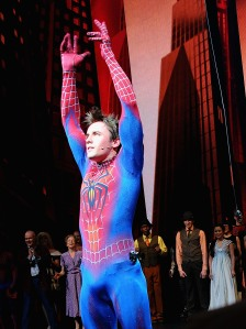 No, Reeve Carney, you can't just fly by force of will. (Getty Images)