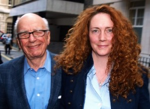 Rupert Murdoch and Rebekah Brooks (Getty)