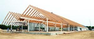 The new Parrish Art Museum under construction
