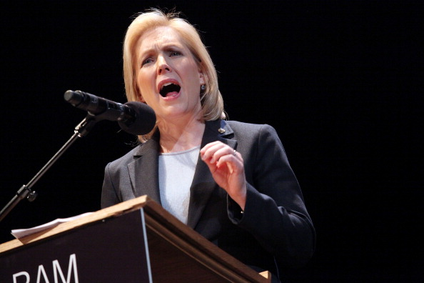 Senator Kirsten Gillibrand. (Photo by Astrid Stawiarz/Getty Images)