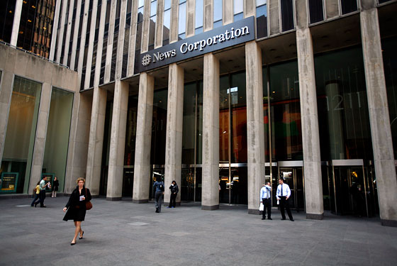 News Corp will stay in its midtown HQ.