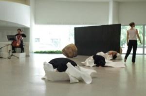 Dancers Perform On Vanishing by Jonah Bokaer