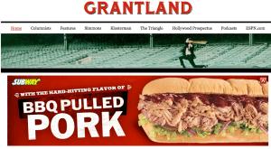 Grantland's homepage