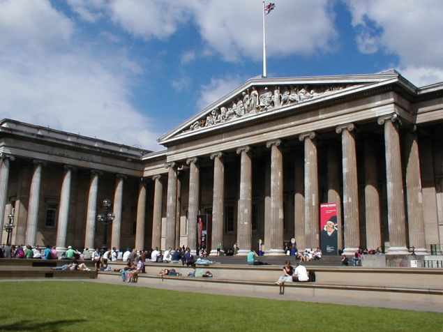 The British Museum attracted 5. million visitors in 2010, a 5 (Photo: Heather Kennedy / Flickr)