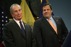 Mayor Bloomberg Meets with New Jersey Governor-Elect Chris Christie December 10, 2009 (Photo Credit: Edward Reed)