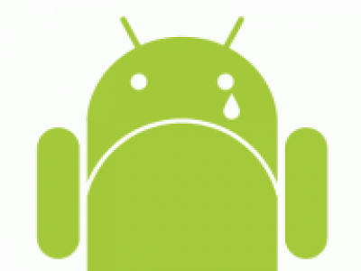 The Android is crying because 950 million of its phones are affected by a vulnerability. (Photo: Google Commons)