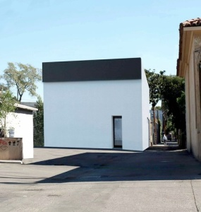 A rendering of the future Matthew Marks Gallery in West Hollywood with a facade embellished by Ellsworth Kelly. VIA NEW YORK TIMES