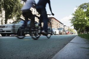 Protected bike lanes could be the solution to lowering cyclist deaths in the city. (Getty)