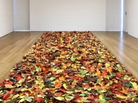 Jane Hammond, Fallen, 2004 - Ongoing, Collection of  the Whitney Museum of American Art, Photo by: Genevieve Hanson ©Jane Hammond