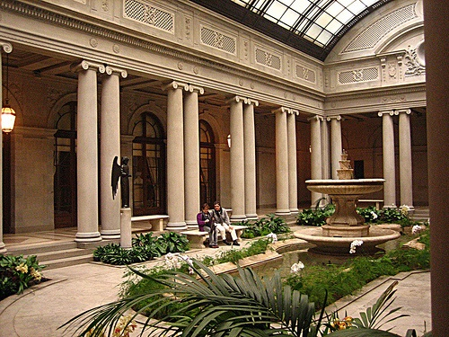 The Interior of the Frick Collection.