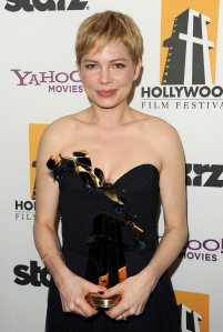 Michelle Williams--who will be nominated. Who else will join her? (Getty Images)