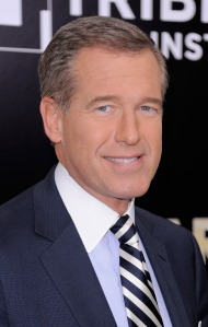 Brian Williams, not a Lana Del Rey fan. (Getty Images)