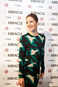 The biggest miracle, Drew Barrymore, was making the oil last eight nights (Getty Images)
