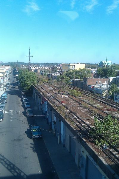 A group of locals and civic groups are hoping to transform an old Queens railroad trestle into a High Line-like park called QueensWay.