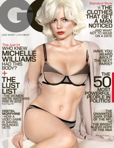 Michelle Williams does Marilyn.