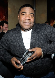 Tracy Morgan at the ceremony after which he was hospitalized (Getty Images)