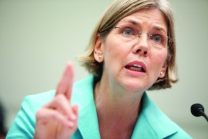 Elizabeth Warren isn't running but could be part of the Democratic bench. (Photo: Getty)