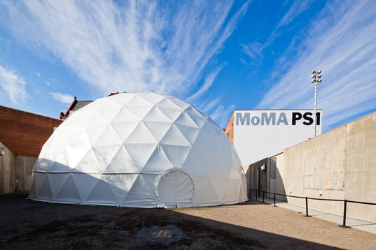 MoMA PS1 Performance Dome (Courtesy: MoMA PS1)
