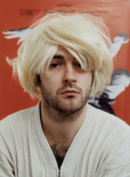 Douglas Gordon, Self Portrait as Kurt Cobain as Andy Warhol as Myra Hindley as Marilyn Monroe, 1996