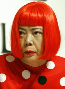 Japanese artist Yayoi Kusama. (Courtesy Getty Images)