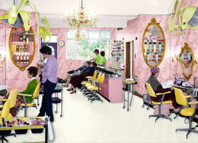 Tracey Moffatt, First Jobs, Hair Washer, 1976, 2008.