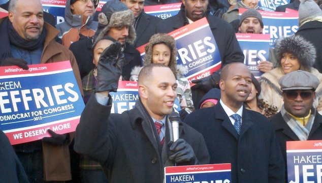 Congressman Hakeem Jeffries (Photo: Colin Campbell).