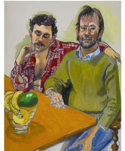 Alice Neel, Geoffrey Hendricks and Brian, 1978