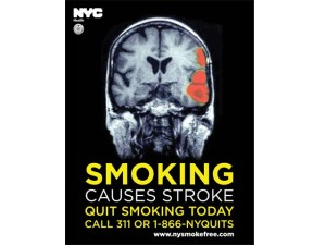 NYC Anti-Smoking Ad (Getty Images).