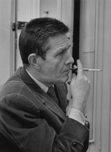 """As you may have heard, it's the centennial of John Cage's birth this year, and institutions all around the world are staging special events. It turns out that it's also the 60th anniversary of the com poster's landmark work, 4'33"""".   The landmark work premiered Aug. 29—that's today—in 1952, in Woodstock, N.Y., at the Maverick Concert Hall. The concert was organized by the Woodstock Artists Association. David Tudor sat at a piano for the amount of time in the title, not playing, closing and then open the keyboard lid to mark the end and beginning of each of the work's three movements.  To mark the 60th anniversary of the piece, composer and author Kyle Gann discussed it for 4 minutes and 33 seconds with documentary filmmaker Cambiz A. Khosravi. It's a nice primer to the work, noting its relation to the thinking of Duchamp and Rauschenberg, and how Cage came up with the idea as a response of sorts to the popularity of Muzak in the late 1940s."""