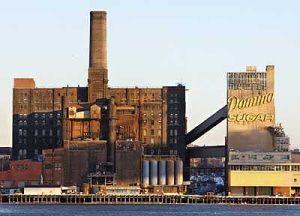 The former Domino Sugar refinery in Brooklyn.