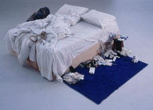 Tracey Emin, 'My Bed,' 1998. (Courtesy Christie's)