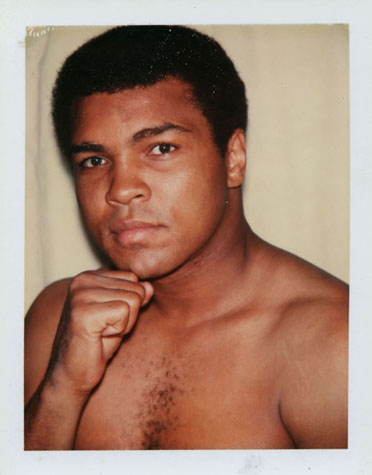 Muhammad Ali, by Andy Warhol, 1977.