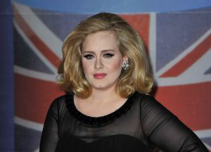 ...but Adele is not. (Photo: Getty Images)