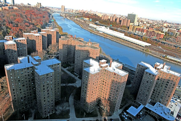 Public Housing in Manhattan (Courtesy NYCHA).