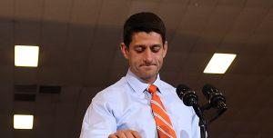 Paul Ryan. (Photo: Getty)