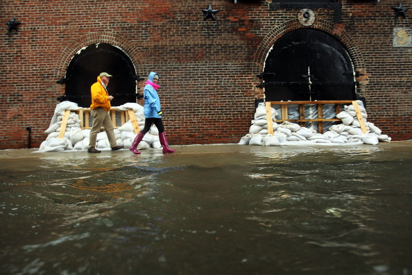 We're gonna need more than just sandbags next time. (Getty_
