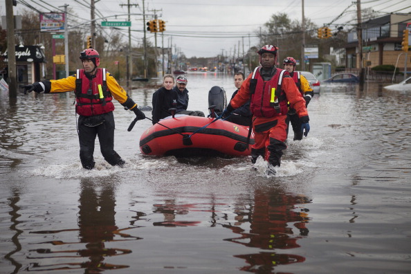 Flooding in Staten Island after Hurricane Sandy. (Photo: Victor J. Blue/Bloomberg via Getty Images)