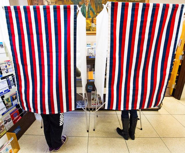 New Jersey will go to the presidential polls in a matter of days, with downballot candidates braced for impact. (Getty Images)